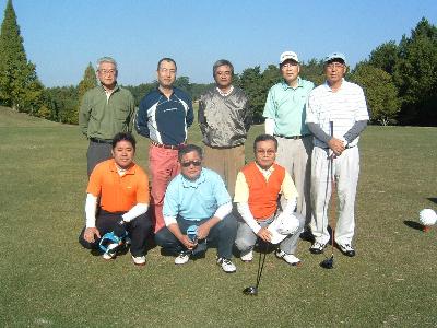 北友会ゴルフコンペ秋