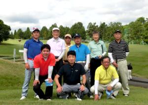2016北友会ゴルフ集合写真
